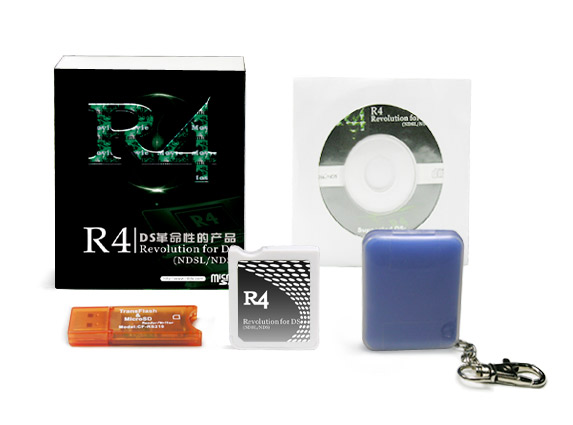 how to make an r4 card for ds lite